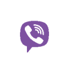 viber color icon footer